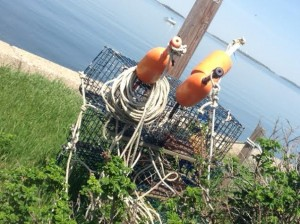 Lobster Trap Decorations
