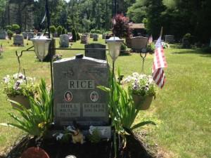 Dereks grave