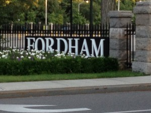 Day 3 Fordham gates