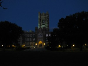 Day 3 Fordham at night